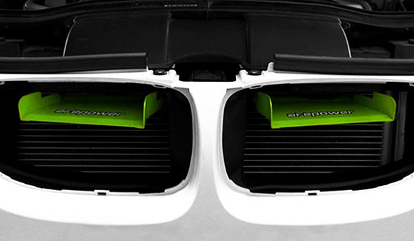 AFE POWER DYNAMIC AIR SCOOPS: 2006-2013 BMW 3 SERIES/M3 (E9X)