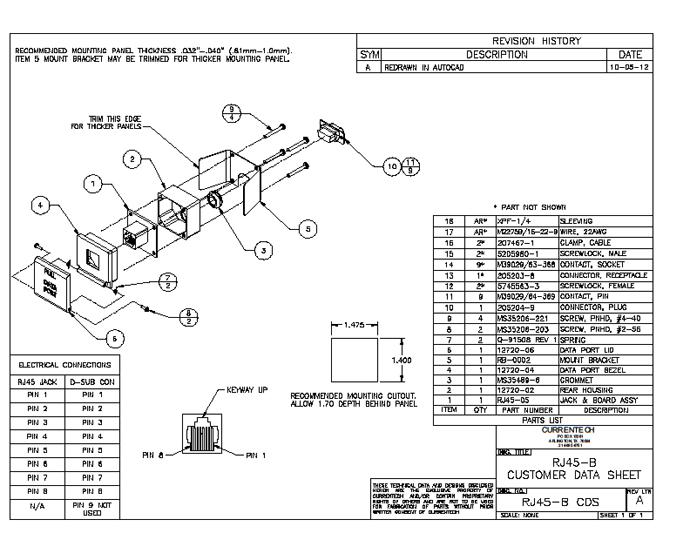 rj45 jack wiring b