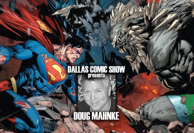 SUPERMAN: REBIRTH artist Doug Mahnke comes to DCS August 6-7