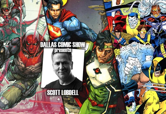 RED HOOD/ARSENAL and X-MEN writer Scott Lobdell joins DCS August 6-7