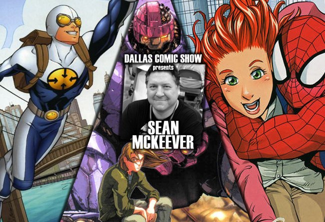 SPIDER-MAN LOVES MARY JANE and GRAVITY writer Sean McKeever hits DCS August 6-7