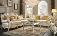 Dallas Designer Furniture | Dresden Formal Living Room Set ...