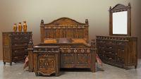 Dallas Designer Furniture | Mansion Rustic Bedroom Set ...