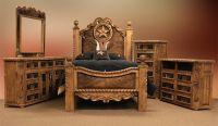 Dallas Designer Furniture | Rope and Star Rustic Bedroom ...