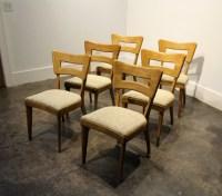 "Set of 6 Iconic Mid-Century Modern Heywood Wakefield ""Dog ..."