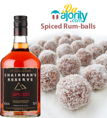 Chairman's Spiced Lucian Rum-Balls | Caribbean Recipes