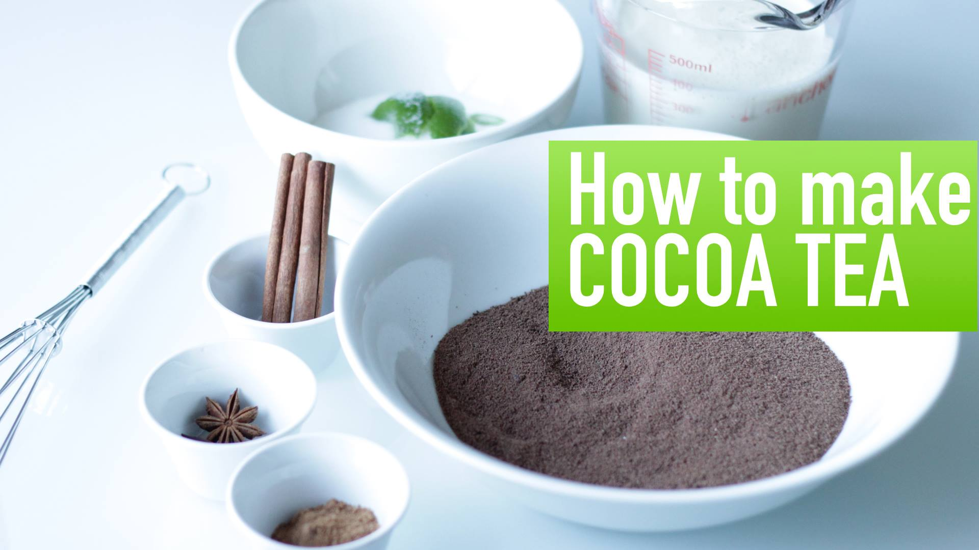 How to make Cocoa Tea | Caribbean Recipes - Caribbean Online Magazine