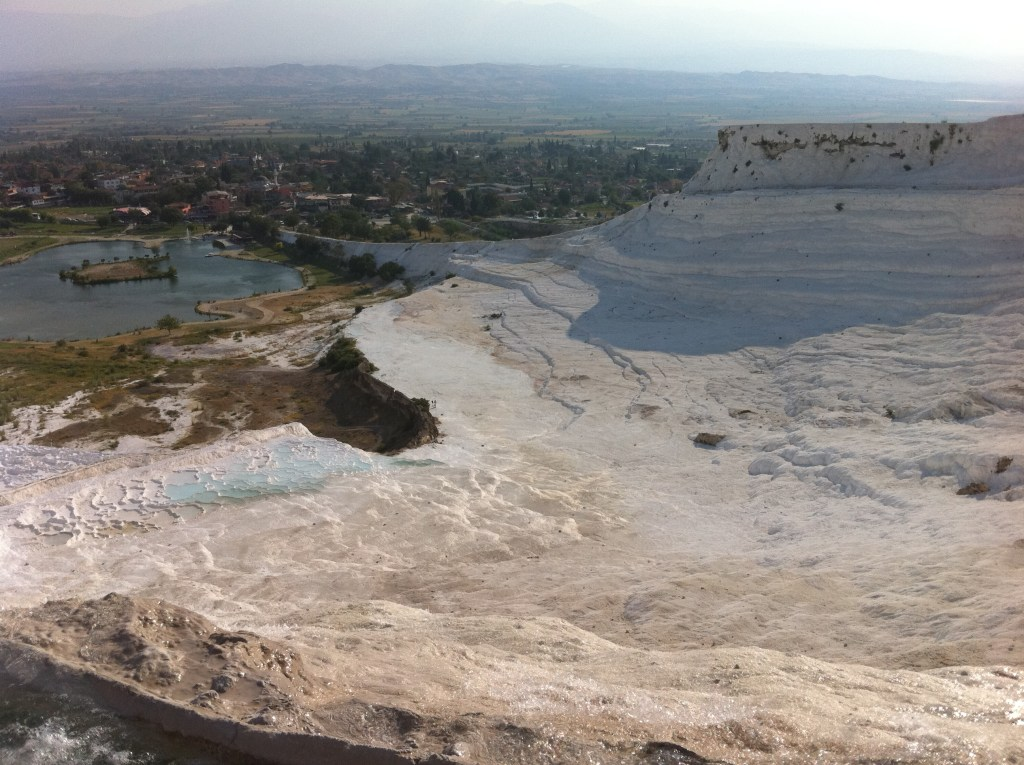 "Pamukkale, the ""Cotton Castle"""