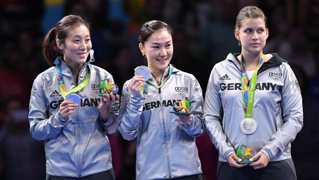 Olympia: Silbermedaille der DTTB-Damen strahlt wie Gold