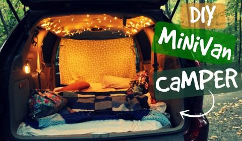 diy minivan rv