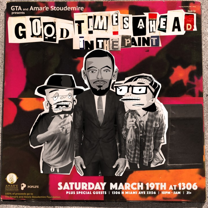 Gta brings good times ahead in the paint to miami dance rebels
