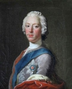 Charles Edward Stuart, painted in Edinburgh in late autumn 1745