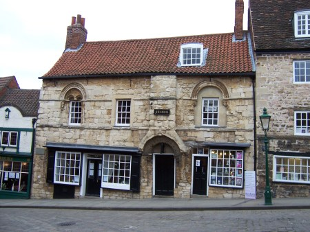 Jew's House in High Street, Lincoln