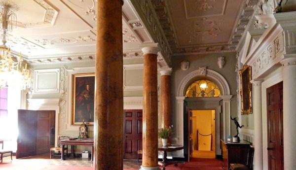 palladian grand hallway Irishdeltaforce