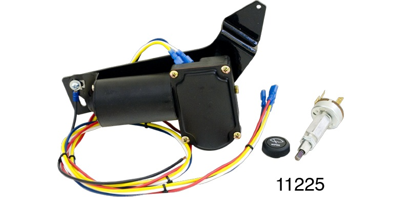 1957 Chevy Electric Wiper Motors, Replacement, 2-Speed Switch w