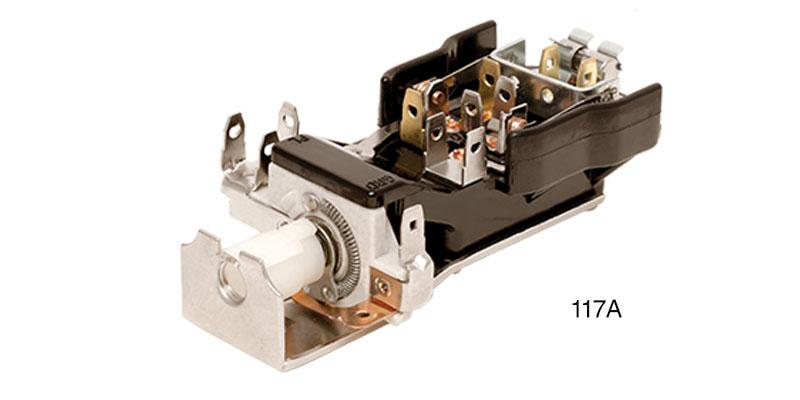 Danchuk 1955-1956 Chevy Headlight Switch, 1955-1957 Trucks and 1955
