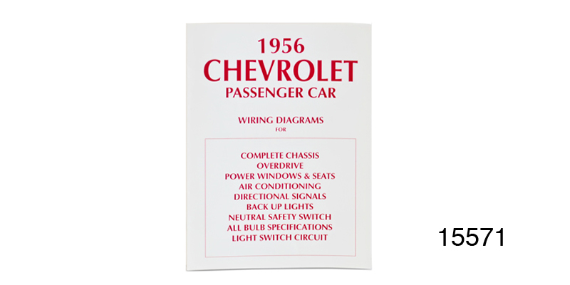 1956 Chevy Passenger Car Wiring Diagram