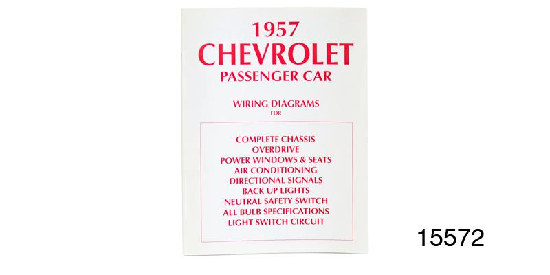1957 Chevy Passenger Car Wiring Diagram