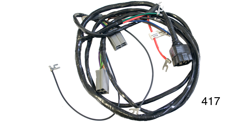 Factory Fit 1956 Chevy Headlight / Generator Wiring Harness, Generator