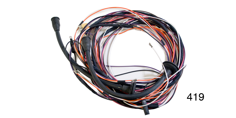 Factory Fit 1955 Chevy Taillight Wiring Harness, 2-Door Hardtop