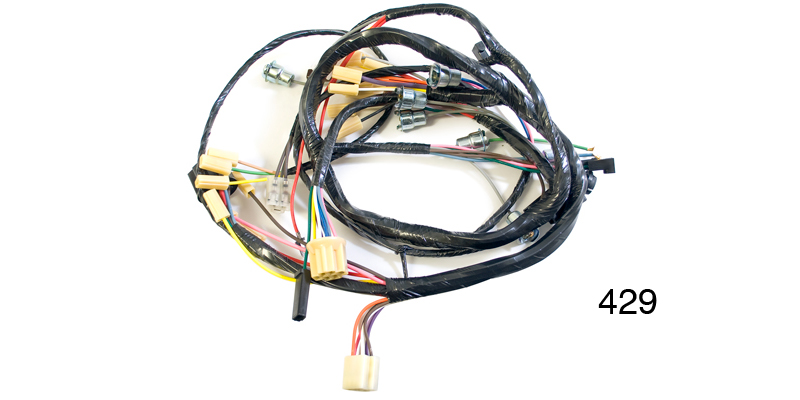 Factory Fit 1956 Chevy Underdash Wiring Harness