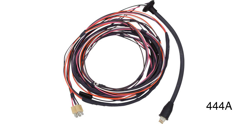 Factory Fit 1956 Chevy Taillight Wiring Harness, Convertible