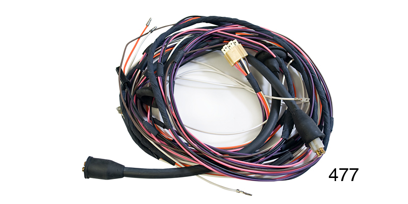 Factory Fit 1955 Chevy Taillight Wiring Harness, 4-Door Sedan