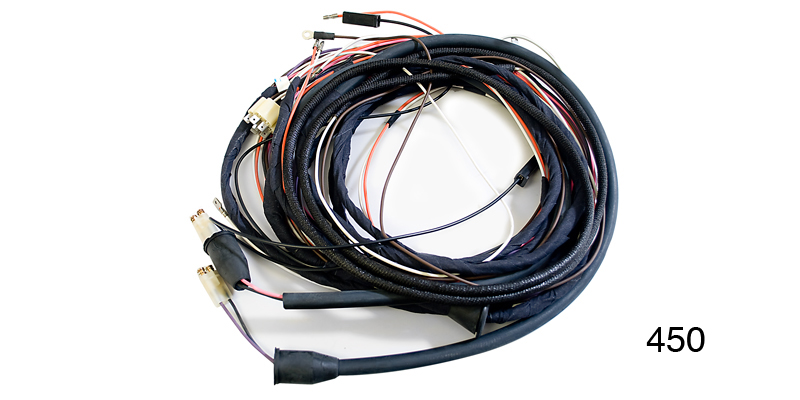 Factory Fit 1955 Chevy Taillight Wiring Harness, Nomad