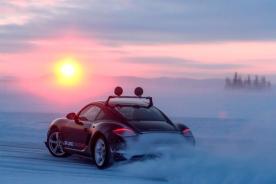 LAPONIE ICE DRIVING