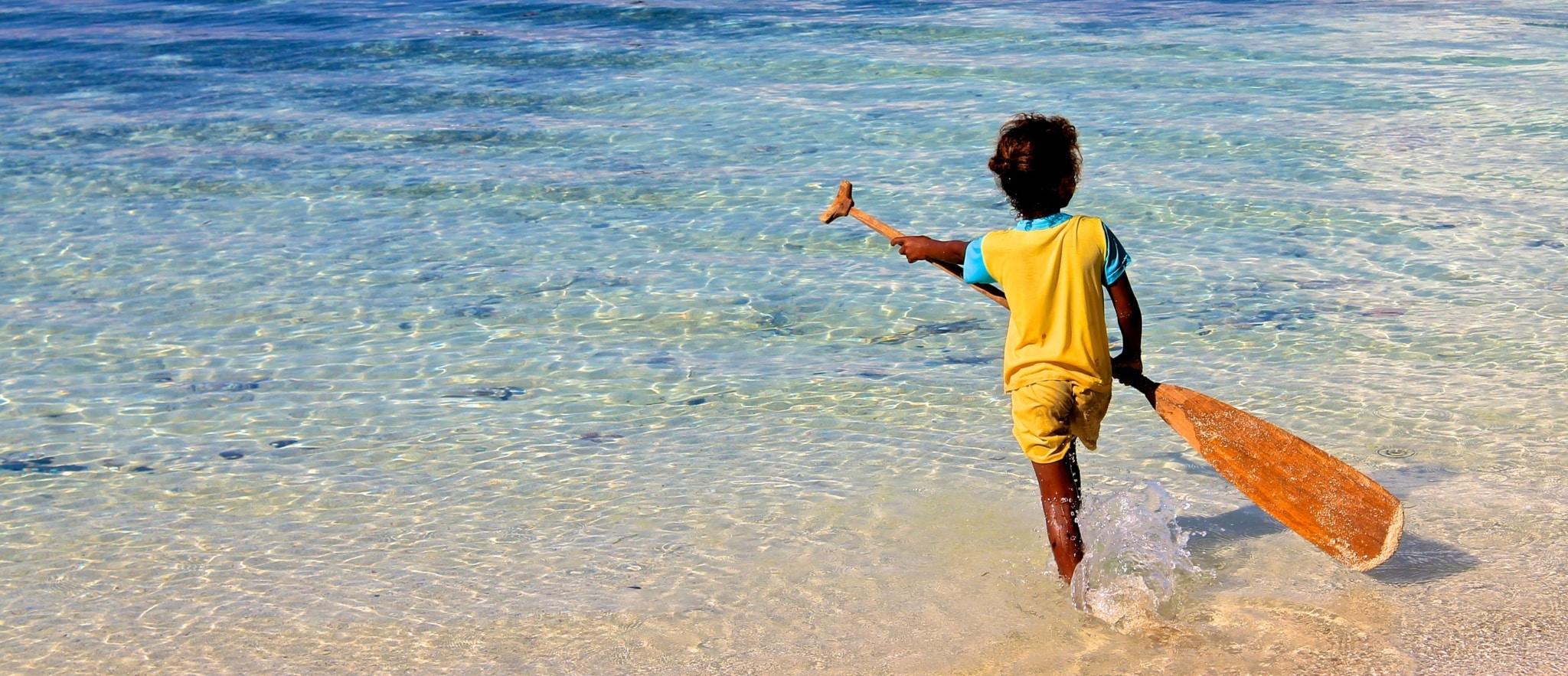 Raja Ampat beach
