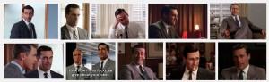 Don Draper Mad Men Facial Expressions