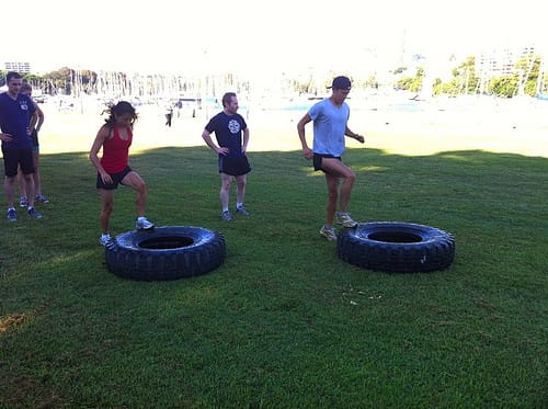 Tyre Training Get In Shape Using Tires
