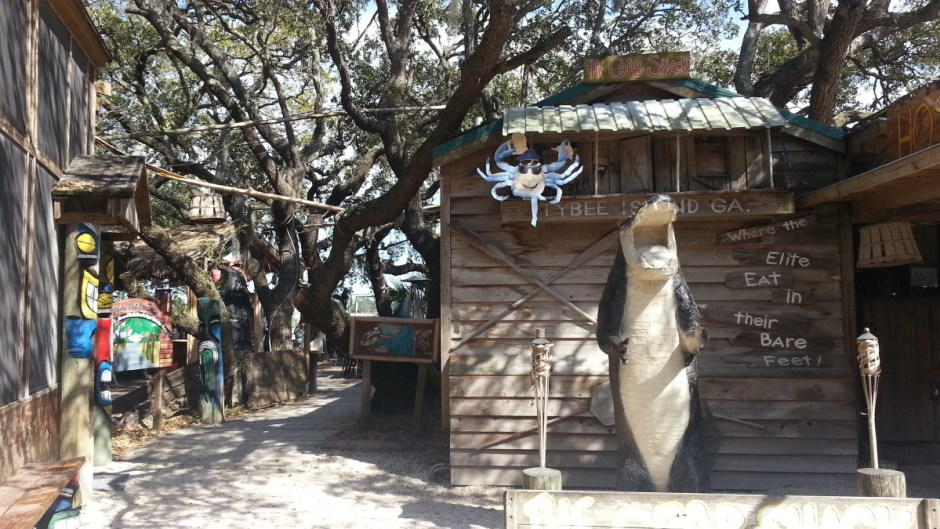 The Crab Shack - Where the Elite Eat in their Bare Feet!