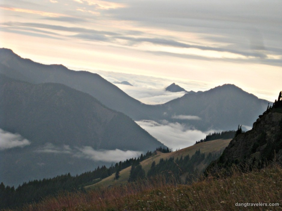 Clouds - Olympic National Park