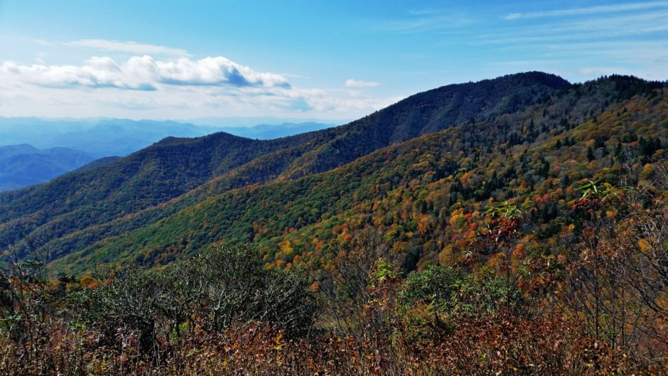 Blue Ridge Parkway in North Carolina
