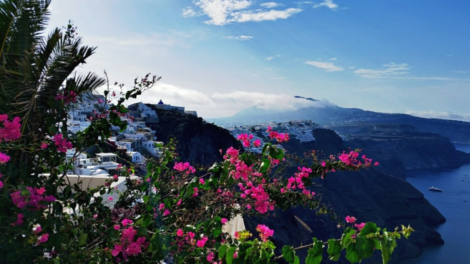 Town of Imerovigli - Santorini Hike