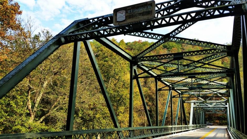 Red River Gorge, Kentucky bridge
