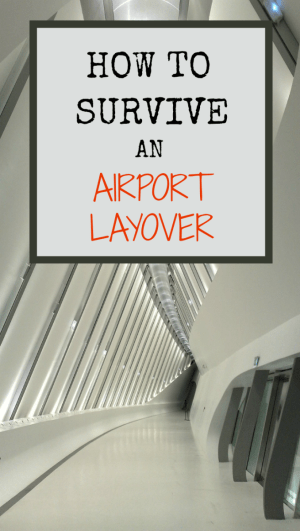 How to Survive an Airport Layover