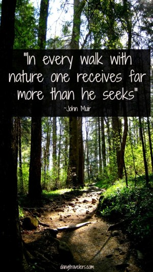 Quotes to Inspire You - Muir