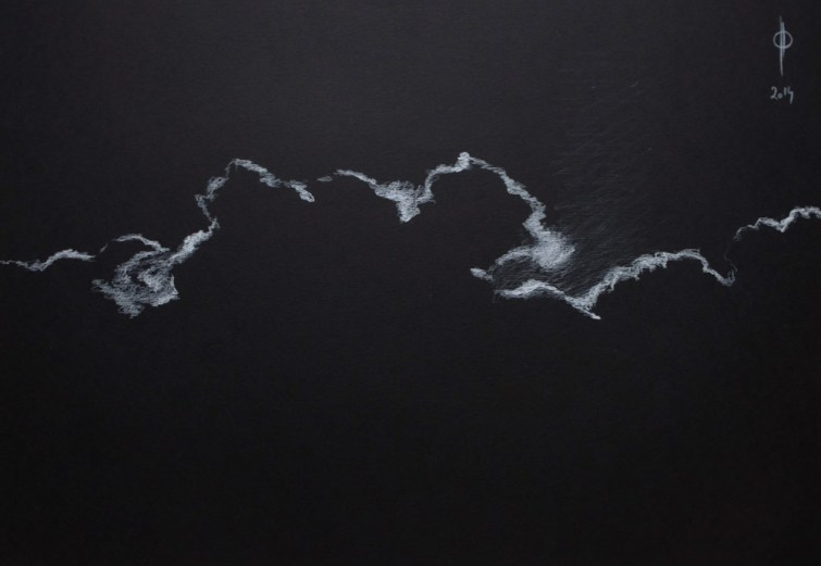 Sky 20 - pencil on paper, 35x50 cm, 2014