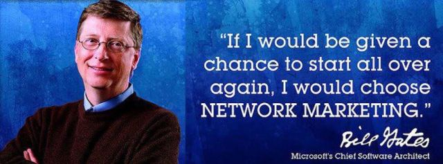 Bill Gates Network Marketing Network Marketing Gates