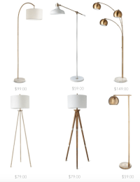 Affordable Floor Lamps!