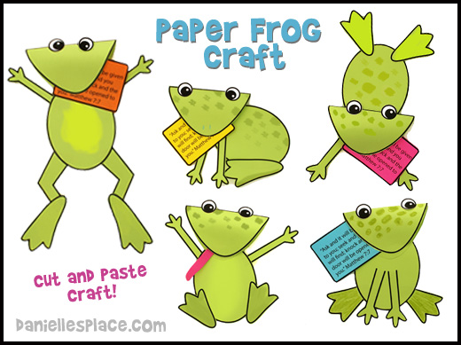 Frog Crafts and Learning Activities for Kids