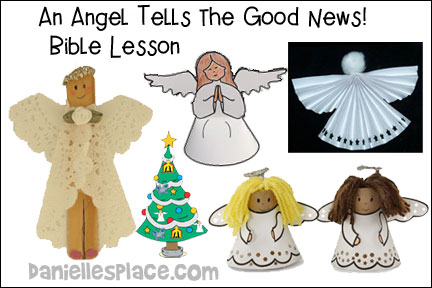 Christmas Lesson 2 - An Angel Tells the Good News
