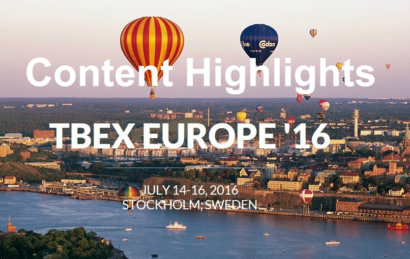 TBEX Stockholm content highlights