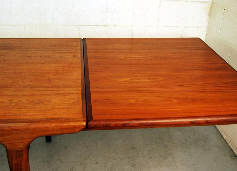 Sold Danish Teak Dining Table By Johannes Andersen 29d003