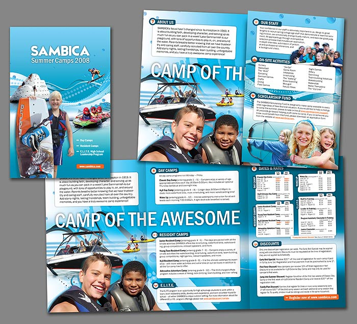 Pin by Heartland Camp on -CAMP BROCHURES- Pinterest Brochures - university brochure template