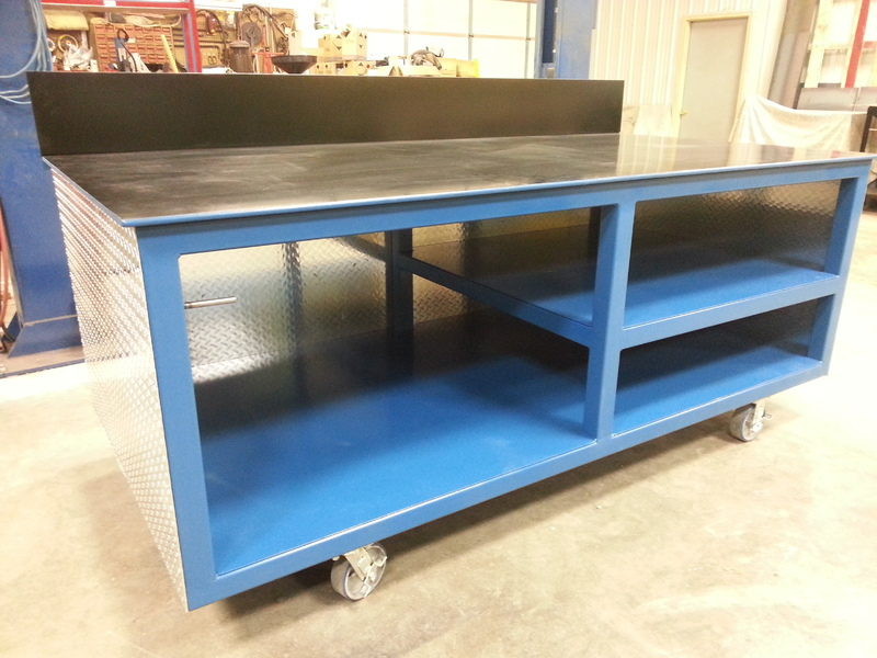 Dan39s Custom Welding Tables Gibbon Mn Products Services
