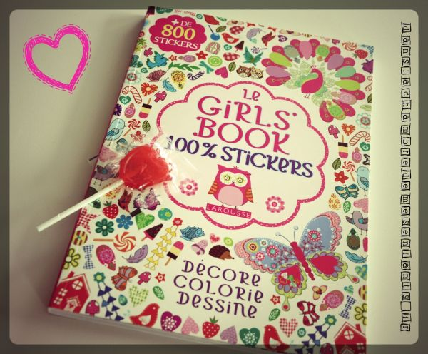 Le Girls'book .couv