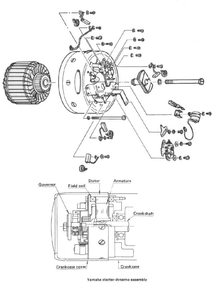 125cc Starter Diagram - Wiring Diagram Progresif